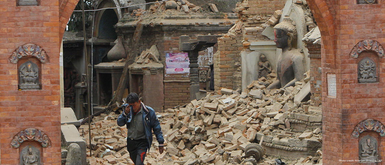 SustainableX nepal earthquake relief campaign